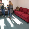 The new Catholic Charities Women's Recovery Program held a ribbon cutting for their facility on Mechanic Street  in Leominster Friday, Oct. 4, 2019. The sitting rooms in the new facility. SENTINEL & ENTERPRISE/JOHN LOVE