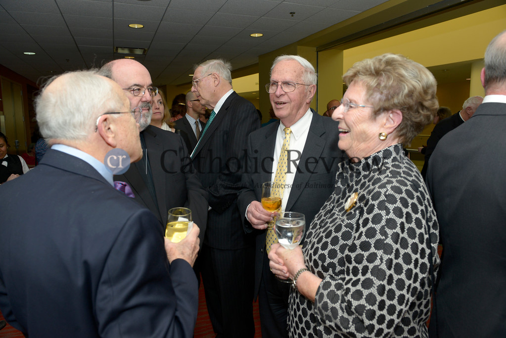 Catholic Charities awards dinner - March 30, 2016