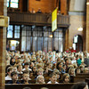 Mass for Catholic schools of the finger lakes region celebrated by Bishop Matthew H. Clark at St. Stephen Church in Geneva.
