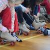 St. Agnes students enjoy roller skating day as part of Catholic Schools Week celebration.