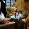 Finger Lakes area Catholic schools gather for annual schools Mass celebrated by Bishop Matthew H. Clark at St. Stephen Church in Geneva.