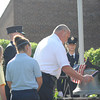 9/11 remembrance ceremony held at newly re-opened Holy Cross School in Charlotte.