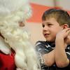 Breakfast with Santa Claus at St. Joseph School in Auburn, N.Y.
