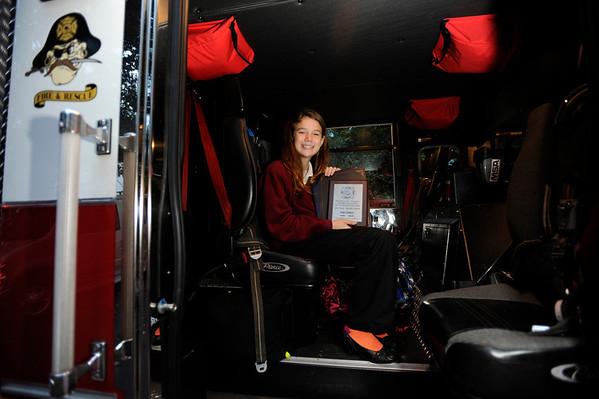 2012 Joan Crowley fire truck ride