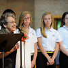 Holocaust remembrance day at Siena Catholic Academy.