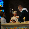 Special Mass and butterfly release to kick off the new school year at St. Louis School in Pittsford.