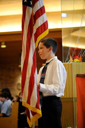 2012 St. Rita honors veterans