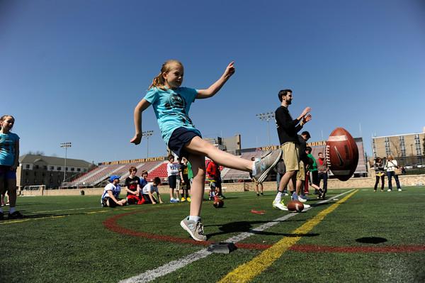 2013 Seton football clinic