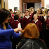 Eight Siena Catholic Academy students donate their hair to Locks For Love.