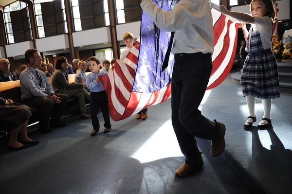 2014 Seton Veterans Day Ceremony