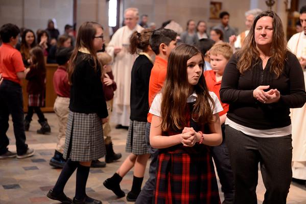2017 Catholic Schools Week Mass