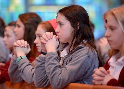 2017 Siena Catholic Academy Ash Wednesday