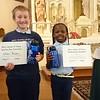 Mary Queen of Peace Catholic School<br /> Spelling Bee winners