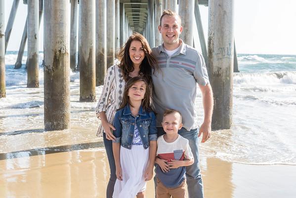 Huntington Beach Group Family Session