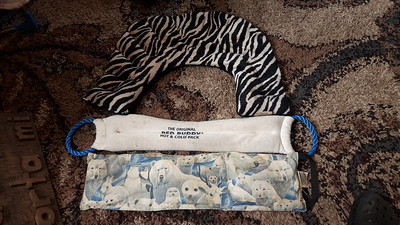Hot & Cold Pack  =  zebra 3000, bed buddy 2,000, polar bear - 1,500