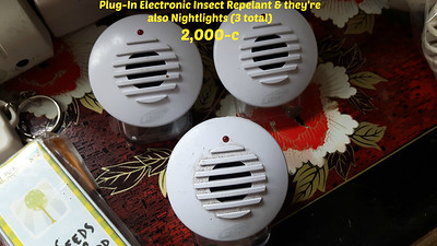 Plug-In Electronic Insect Repelant & they're also Nightlights (3 total) = 2,000-c
