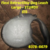 Flexi Retractible Dog Leash - Large - STURDY  =  $15