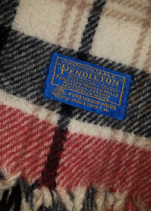 BLANKET - Pendleton 100% Pure Virgin Wool (made in Portland, OR - U.S.)  =