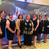 Catie's Angels, from left, Ellen Andre of Chelmsford, Lynne Baril of Dracut, Marian Silk of Lowell, Mickey Cockrell and Anne-Marie Sousa (founder, president and Catie's mom), both of Tyngsboro, Denise Trombly of Hudson, N.H., and Laura Bisson of Nashua