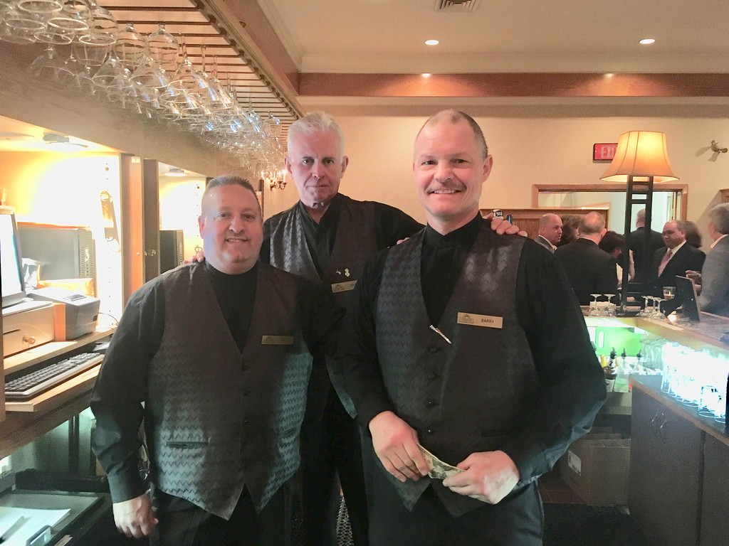 . Andover Country Club�s busy bartenders