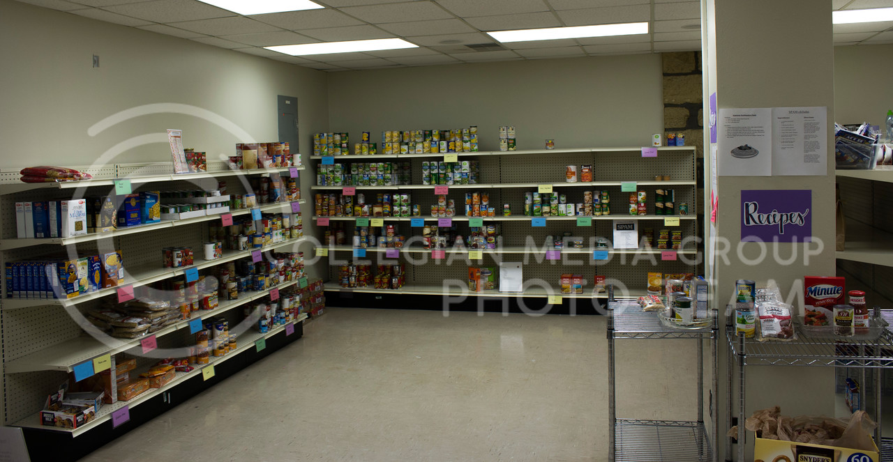 Cats Cupboard Located in Fairchild 009 is a new Program supplying food and other items to students for free. The Mission of Cats Cupboard is to providie access to nutritious food and support through initiatives that promote health, success, and well-being. (Alex Shaw | Collegian Media Group)