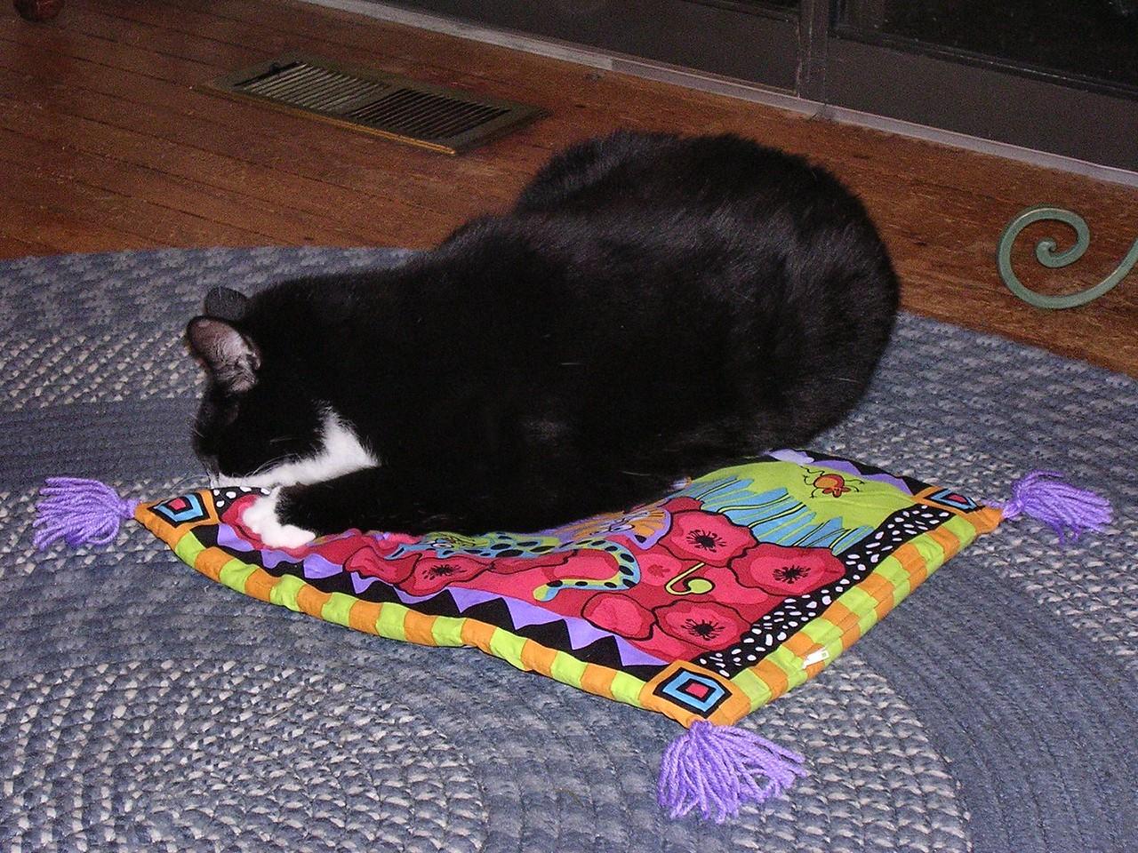 VAL: Ooooh, catnip! I LOVE catnip!
