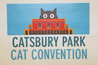 The first ever Catsbury Park Cat Convention was held this past weekend in Asbury Park. Celebrity cats Lil Bub and Teddy and Stache were on hand along with The Kitten Lady, Paul The Cat Guy and many others. (MARK R. SULLIVAN/THE COAST STAR)