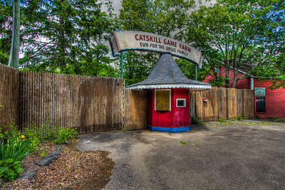 Entrance to the old Catskill Game Farm.  Shot in 2013.