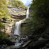 Kaaterskill Falls from the bottom.  It was a fun 1.4 mile clamber up rocks and steps and mud.   We're told the water was barely running a week ago -- but the Catskills got 7 inches of rain during the previous week.  Thus a beautiful waterfall.