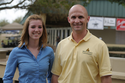 West Point TBS Terry Finley (Sponsor of 2009 KVLS Scholarship) and Shelby Snowberger, 2009 State 4-H Dairy KVLS recipient