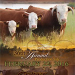 2016 Colyer Herefords 36th Annual Production Sale