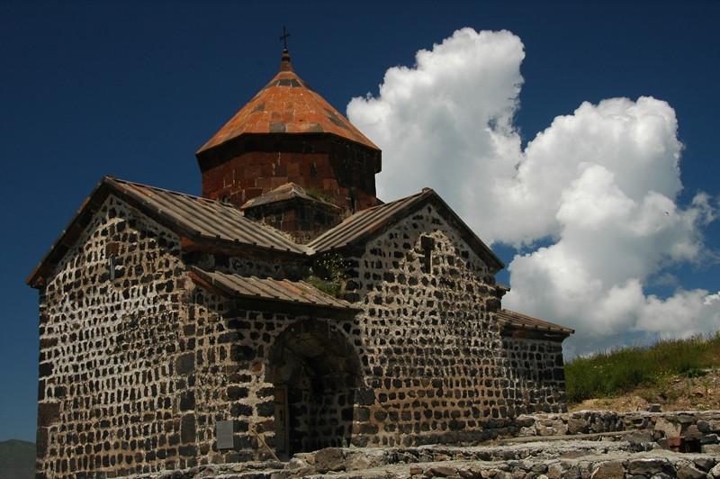 Apostles Church under Renovation - Sevan, Armenia