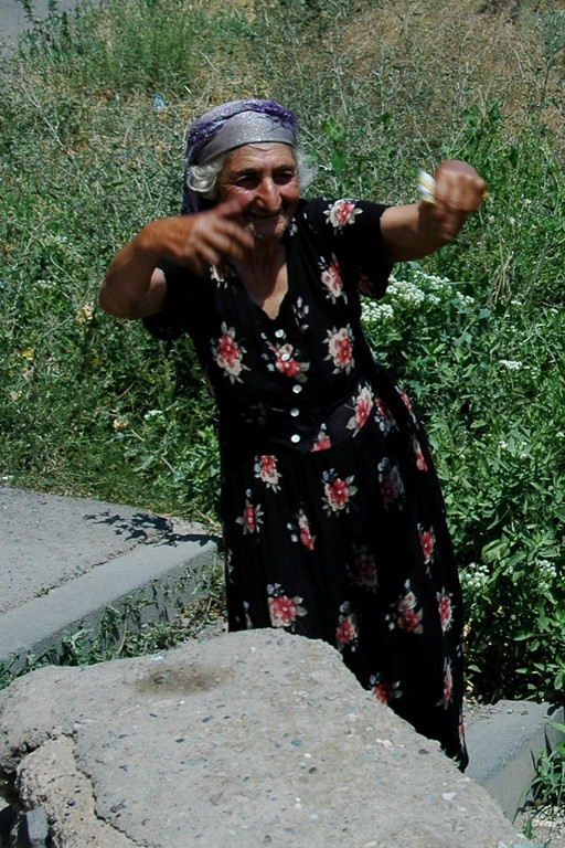 Groovy Old Woman - Yerevan, Armenia