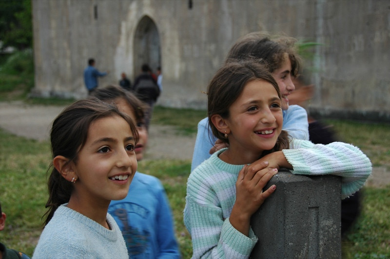Blissful Villagers - Tatev, Armenia