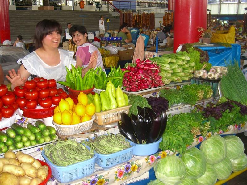 Vegetables at the Market - Yerevan, Armenia