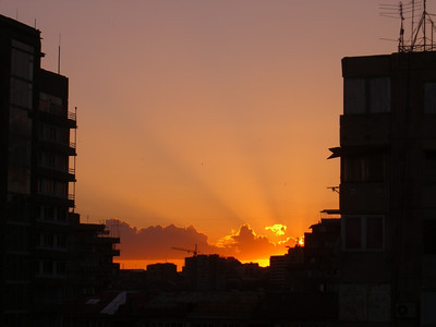 Yerevan Sunset - Yerevan, Armenia