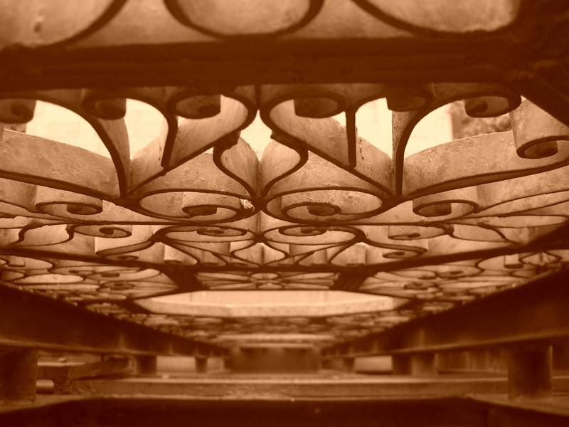 Matenadaran Museum Iron Doors - Yerevan, Armenia