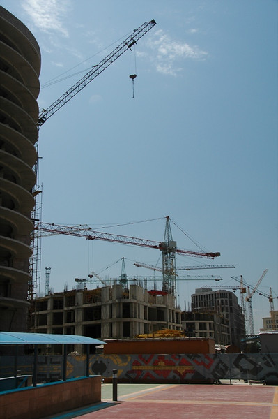 Construction Sites, New Buildings - Yerevan, Armenia