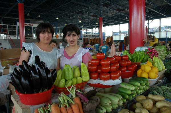 Vegetable Vendors - Yerevan, Armenia