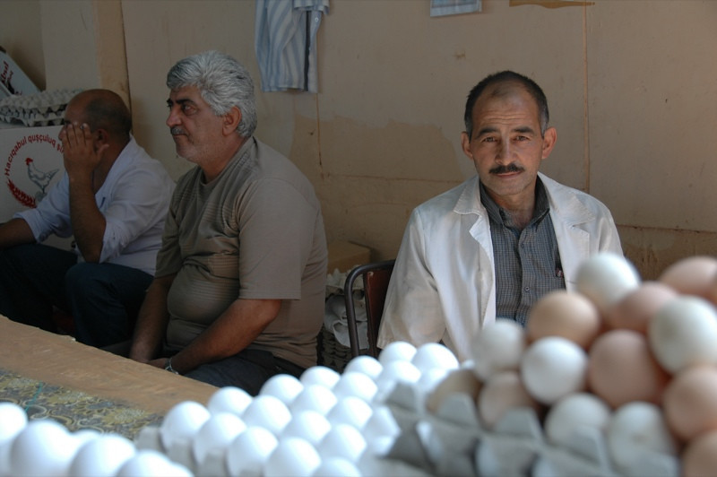 Eggs and People - Baku, Azerbaijan