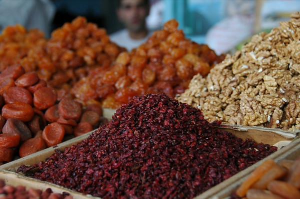 Dried Pomegranate and Fruit - Baku, Azerbaijan