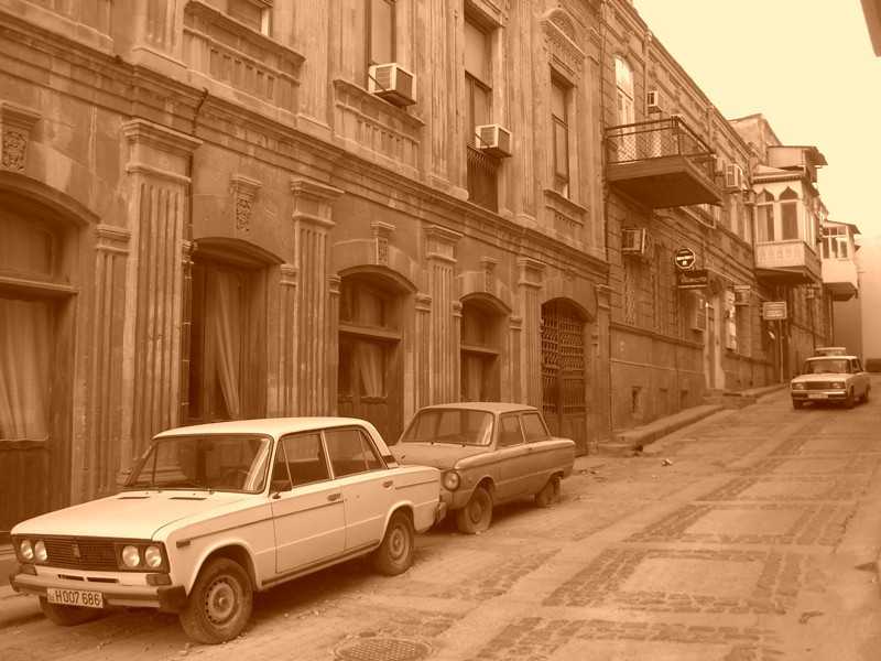 Streets of Baku - Baku, Azerbaijan