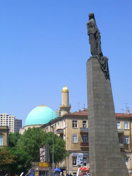 Statue of a Woman - Baku, Azerbaijan