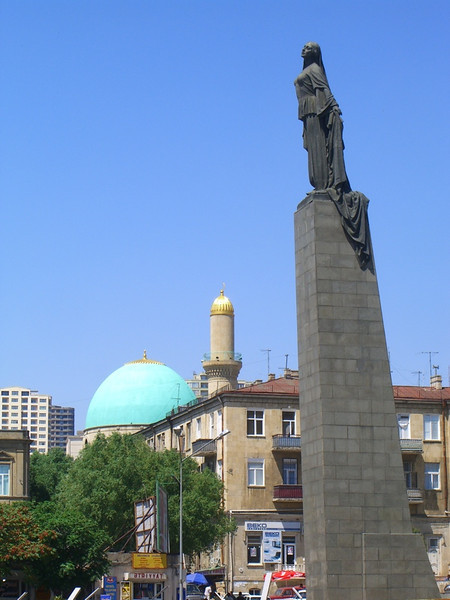 Statue of a Woman - Baku, Azerbaijan