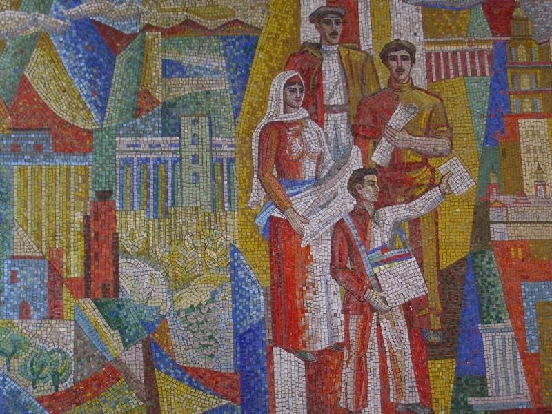 Art-inspired Mosaics - Baku, Azerbaijan
