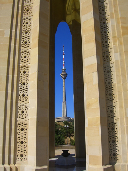 A View of the TV Tower - Baku, Azerbaijan