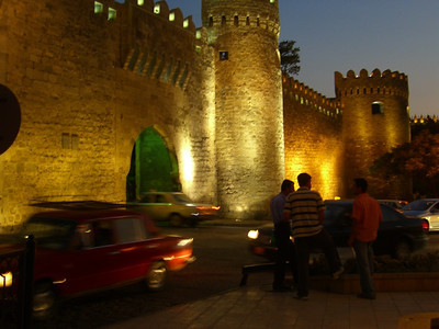 Entrance to the Old Town - Baku, Azerbaijan