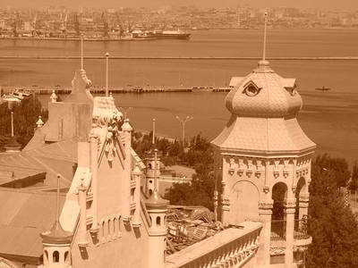 Paris-Inspired Architecture in Baku, Azerbaijan