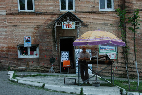 Vendor Near Khan's Palace - Sheki, Azerbaijan