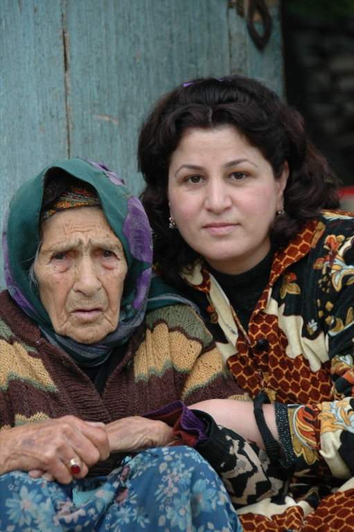 Mother and Daughter - Lahic, Azerbaijan